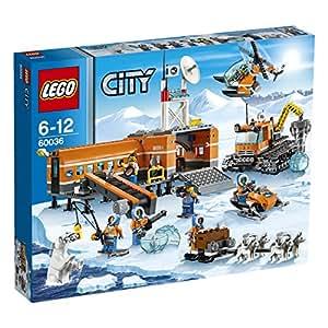レゴ (LEGO) シティ スノーベースキャンプとクローラードリル 60036