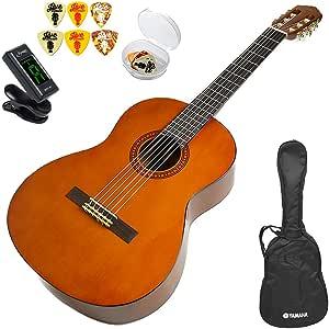 クラシックギター 初心者セット ヤマハ アコギ YAMAHA CS40J (ギター 初心者 入門 セット 5点) ミニギター