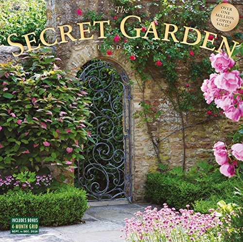 The secret garden 2017 calendar imagict for Gardening 2018 calendar