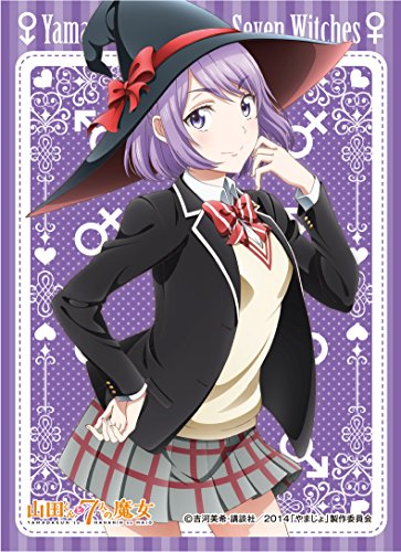 キャラクタースリーブ 山田くんと7人の魔女 小田切寧々 (EN-078)