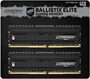 CFD販売 デスクトップPC用ゲーミングメモリ Ballistix Elite PC4-28800(DDR4-3600) 8GB×2枚 288pin 無期限保証 國內正規代理店品 W4U3600BME-8G