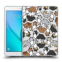 Head Case Designs シェットランドシープドッグ ドッグブリード・パターンズ7 Samsung Galaxy Tab A 9.7 専用ソフトジェルケース