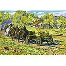 1/35 露・76.2mm F22速射砲 & 牽引リンバー + 兵士3体 + 馬6頭 WW2