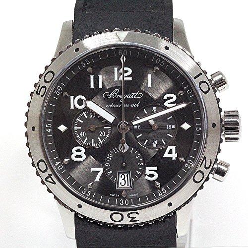 [ブレゲ]BREGUET メンズ腕時計 TYPEXXI タイプ21 3810/ST/92/9ZU グレー文字盤 ラバーベルト 中古