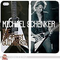 The Greatest Guitarists 手帳型 Xperia XZs?SOV35(G006001_02) ギターリスト MSG マイケルシェンカー art センス 個性的 スマホケース