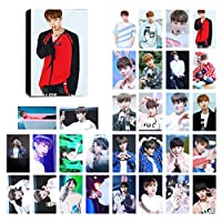 Kpop Wanna One LomoカードPhotocard Set of 30for Wannableファンwith Greeting Cardはがきボックス
