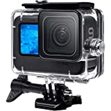 F1TP Waterproof Case for GoPro Hero 9 Black(2020), 60M/196Ft Water Proof Diving Underwater Protection Case for GoPro Action C
