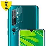 NUPO Xiaomi Mi Note 10 / Mi Note 10 Pro カメラフィルム, Xiaomi Note10 / Note10 Pro レンズフィルム 極高透過率 強化保護 軟質液晶保護フィルム (3枚入)