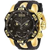 Invicta DC Comics Chronograph Quartz Black Joker Dial Men's Watch 30063