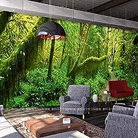 Sprooudbz 熱帯雨林 壁紙 3 D リビングルームの背景の壁紙 150 cmX 105 cm