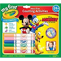 Crayola My First Mickey Markers and Paper [並行輸入品]
