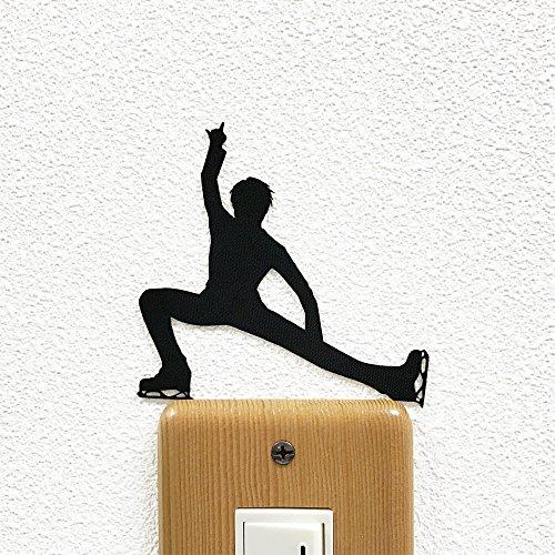 ウォールステッカー フィギュアスケート 「ランジ」...