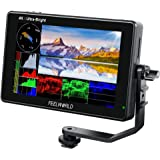 FEELWORLD LUT7S 7 Inch 2200nit Ultra Bright Touch Screen DSLR Camera Field Monitor with 3D Lut Waveform Vectorscope Automatic