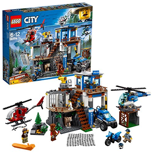 レゴ(LEGO) シティ 山のポリス指令基地 60174...