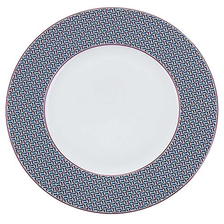 [ エルメス ] Hermes タイ?セット ディナープレート 29.5cm 40101 ガーネット TIE SET Dinner Plate H City Grenat プレート 皿 食器 新生活 [並行輸入品]