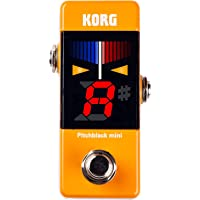 KORG(コルグ) ギター/ベース用 ペダルチューナー Pitchblack mini OR オレンジ PB-MINI…