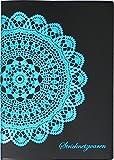 ZISA/ジーサ 手帳 2020年 B6 マンスリー ドイリー ブラック MY07-03(2020年 1月始まり)