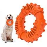 ABTOR Ultra Durable Dog Chew Toy - Toughest Natural Rubber - Texture Nub Dog Toys for All Aggressive Chewers Large Dogs Puppy