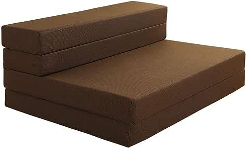 Avenco ソファーベッド マットレス シングル 高反発マットレス 敷布団 寝具 カバー洗濯 100×200cm 厚み10cm