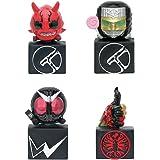 仮面ライダーシリーズ 正義のダブルジャックマスコットVol.2 全4種セット ガチャガチャ