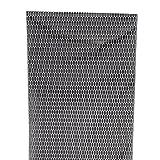 ABS製樹脂 ユーロハニカムグリル グリルネット ハニカムメッシュ ブラック 六角