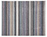萩原 ラグ カーペット 「ウェルネス」 ブルー 約135X190 ウィルトン織 270045005
