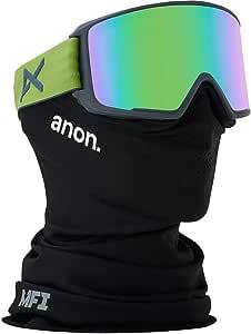 Anon(アノン) スノーボード スキー ゴーグル メンズ M3 By ZEISS 185661 アジアンフィット 平面レンズ 業界最速レンズ交換 フェイスマスク付