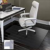 SHAREWIN Office Chair Mat for Hard Floors - 36''×47'',Heavy Duty Clear Wood/Tile Floor Protector PVC Transparent