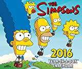The Official the Simpsons 2016 Desk Block Calendar (Box)
