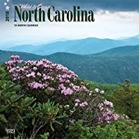 Wild & Scenic North Carolina 2018 Wall Calendar [並行輸入品]
