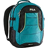 フィラ Fila Anchor Laptop with Tablet Sleeve Backpack Teal One Size [並行輸入品]