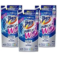 【まとめ買い】アタックNeo 抗菌EX Wパワー 洗濯洗剤 濃縮液体 詰替用 360g×3個