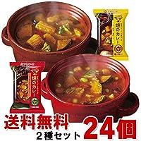 アマノフーズ フリーズドライ 畑のカレー 2種 24食セット