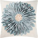 OiseauVoler 3D Sunflowers Handmade Throw Pillow Cases Decorative Cushion Covers Canvas Pillowcases Home Sofa Car Bed Room Dec