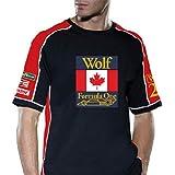 RETRO GP ウォルターウルフ・コントラストTシャツ WOLF RACING CONTRAST Mens T-shi…