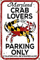 メリーランド州 - カニ好きパーキングのみ 12 x 18 Art Print LANT-86133-12x18