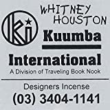 KUUMBA/クンバ『incense』(WHITNEY HOUSTON ホイットニーヒューストン) (Regular size レギュラーサイズ)
