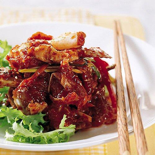 辛いケジャン 1kg ワタリガニ 海鮮キムチカニ
