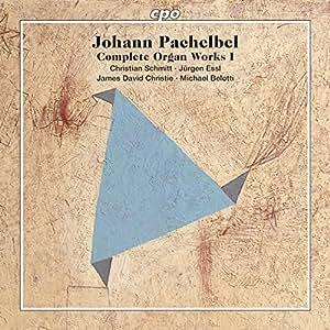 ヨハン・クリストフ・パッヘルベル:オルガン作品全集 第1集(Johann Pachelbel)[SACD-Hybrid, 5枚組]