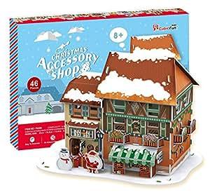3D立体パズル 46ピース Christmas Accessory Shop P650h