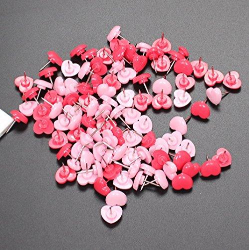 [해외][ARTASY WORKSHOP®] 세련된 압정 압정 압정 플라스틱 푸시 핀 벽걸이 압정 귀여운 하트 모양 Drawing Pin/[ARTASY WORKSHOP®] Fashionable Pushpin Push Pin Plastic Push Pin Wall Hanger Pull Tap Cute Heart Type Drawing Pin