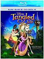 Tangled (3D) [Blu-ray] [Import]