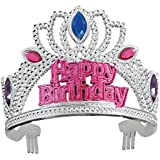 Unique Party Jewelled Happy Birthday Tiara by Unique Party [並行輸入品]