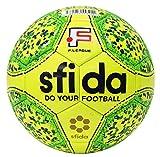 sfida(スフィーダ) フットサル ボール JFA 検定球 Fリーグ 公式 試合球 シームレス 製法 グリップ インフィニート 2 プロ ドット 水玉 INFINITO II PRO BSF-IN11 LIME 4号 -