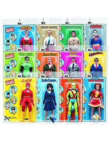 ワールドグレイテストヒーローズ/ DC スーパーフレンズ レトロ 8インチ アクションフィギュア シリーズ2: 12種セット