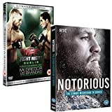 Conor McGregor Megapack - Featuring Notorious Documentary Series and UFC Fight Night DVD Mcgregor vs Brando