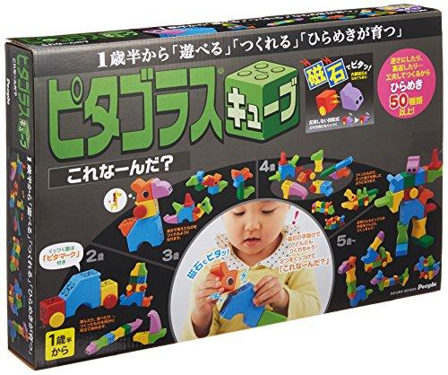 ピタゴラスシリーズ ピタゴラスキューブ これな~んだ? 20パーツ PGS-322