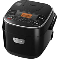 【Amazon限定ブランド】Smart Basic アイリスオーヤマ 炊飯器 マイコン式 3合 極厚銅釜 銘柄炊き分け機…