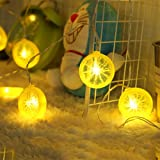 Novelty Lemon Fairy String Lights with 20 LED, Battery Operated Warm White Twinkle christmas String Lighting for Wedding ,Par