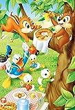 99ピース ジグソーパズル ディズニー ドーナッツどろぼう? 【プチライト】(10x14.7cm)